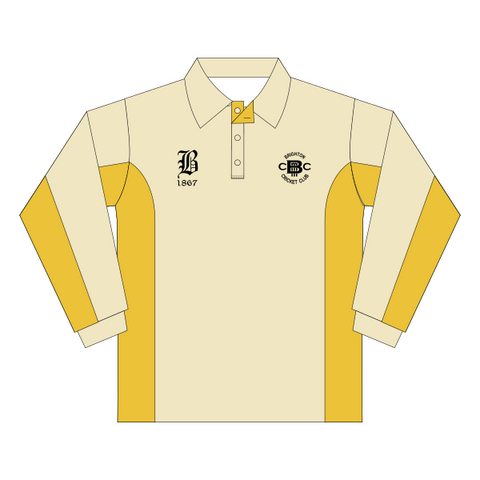 Brighton Cricket Club | Junior Playing Polo - Unisex - Long Sleeve *CONTACT CLUB TO ORDER*