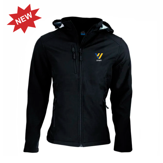 Valley View Secondary | STAFF Softshell Jacket - Black