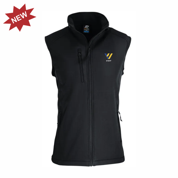 Valley View Secondary | STAFF Softshell Vest - Black