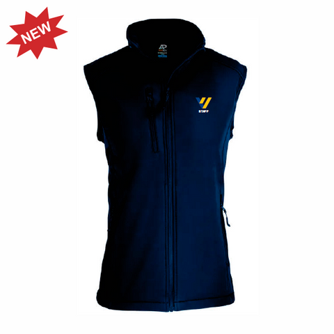 Valley View Secondary | STAFF Softshell Vest - Navy