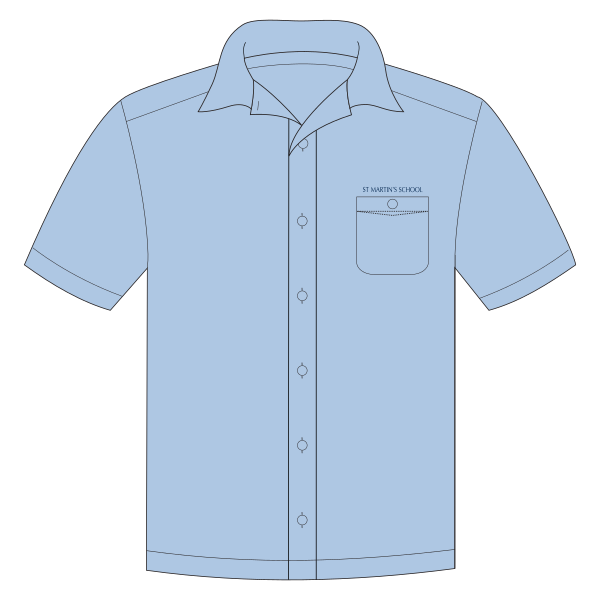 St Martin's Catholic PS | School Shirt - SS