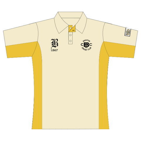 Brighton Cricket Club | Junior Playing Polo - Ladies - Short Sleeve *CONTACT CLUB TO ORDER*