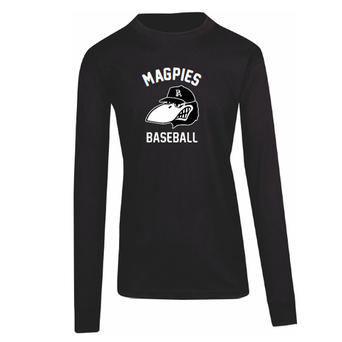 Port Adelaide Magpies Baseball | Long Sleeve Tee