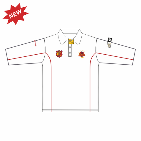 Flinders Park CC | B-Grade, C-Grade & Juniors Playing Polo - 3/4 Sleeve