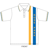 Rose Park PS | Sports Polo (White) - Short Sleeve