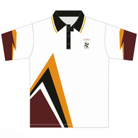 Cabra Dominican College | White Polo (Cricket, Tennis or Volleyball)