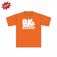 BK Gym & Swim | Kids T-Shirt - Orange