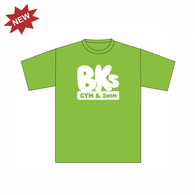 BK Gym & Swim | Kids T-Shirt - Lime