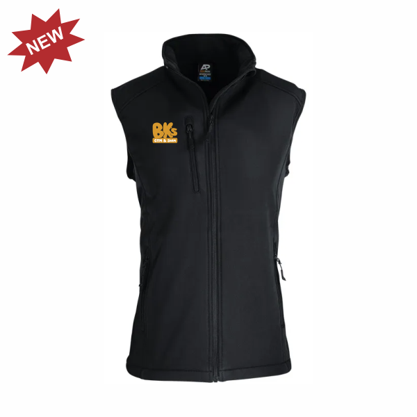 BK Gym & Swim | STAFF Softshell Vest - Mens