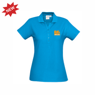 BK Gym & Swim | STAFF Crew Polo - Cyan - Ladies