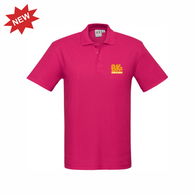 BK Gym & Swim | STAFF Crew Polo - Fuschia - Mens