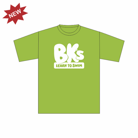 BK Learn To Swim | Kids T-Shirt - Lime