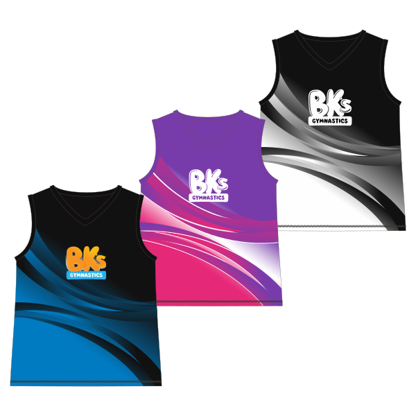 BK Gym Merch (P&S) | Touch Singlet