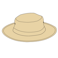 Rose Park PS | Wide Brim Hat