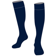 Dernancourt R-7 | Cotton Blend Tights - (navy)