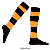 Burnside PS | Football Socks - Black/Gold