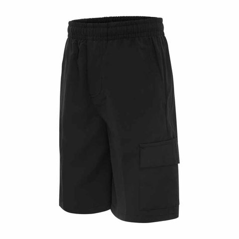 School Uniform | Cargo Shorts - Black