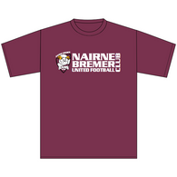 Nairne Bremer FC | Cotton Tee - Maroon