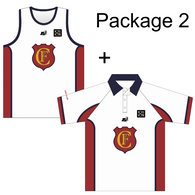 Flinders Park CC | Package 2 - Training Singlet + Training Polo