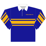 Rose Park PS | Striped Rugby Top *CLEARANCE*