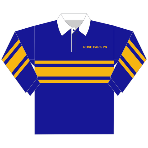 Rose Park PS | Striped Rugby Top