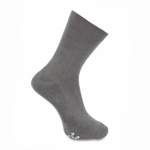 School Uniform | Crew Socks (Twin Pack) - Grey