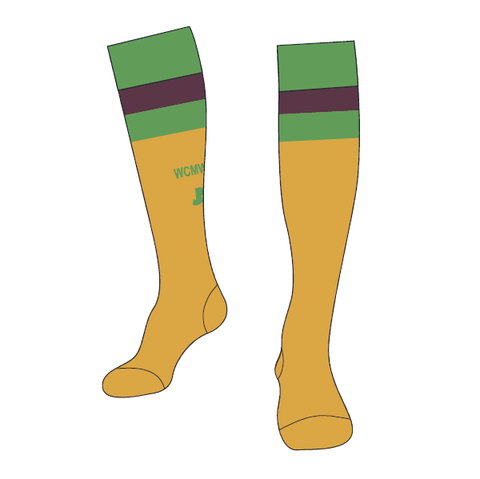 Weston Creek Wildcats FC | Socks - Gold