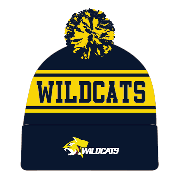 Weston Creek Wildcats FC | Pom-Pom Beanie