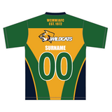 Weston Creek Wildcats FC | Training Tee - Green - Short Sleeve
