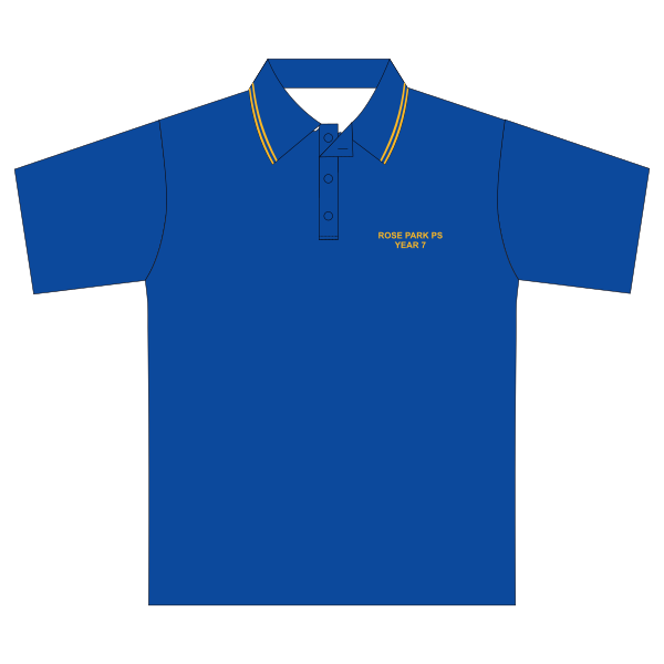 Rose Park PS | Year 7 Polo - Royal *CLEARANCE*