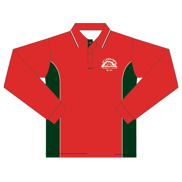 St Leonard's PS | Polo - Long Sleeve