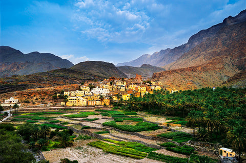 Balad Sayt, Oman's Hajar Mountains