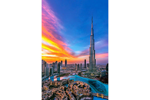 Burj Khalifa – Winter Sunset