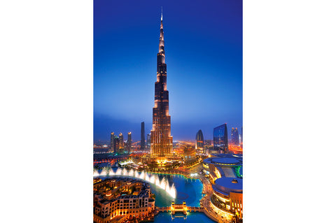 Burj Khalifa & Dubai Fountain