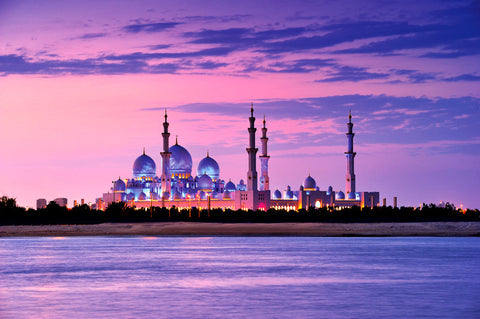 Sheikh Zayed Grand Mosque – Sunset
