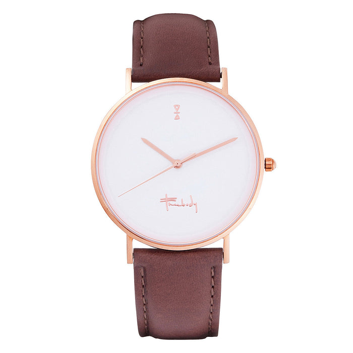 Freebody GS series Tan leather watch