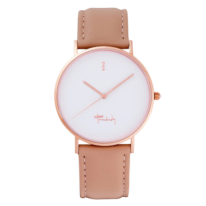 Freebody GS series nude leather watch