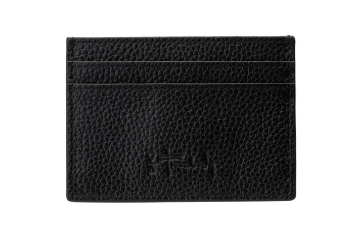 Freebody black leather card holder wallet