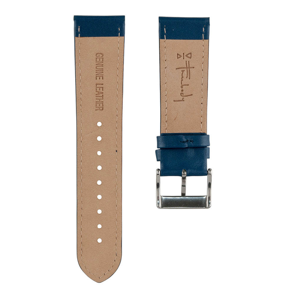 Navy Leather Band