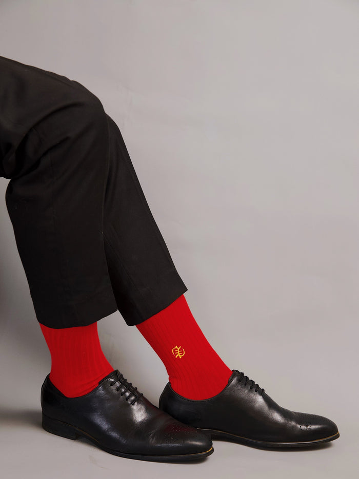 Freebody x chale socks gye nyame red