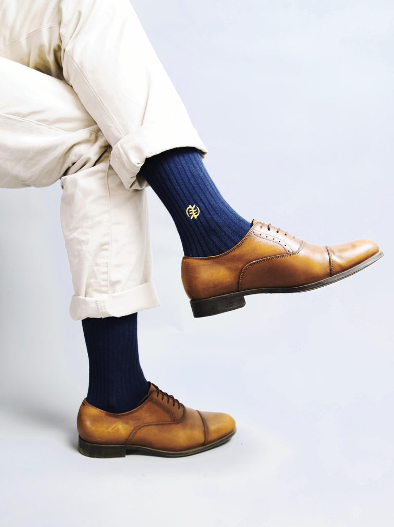 GNC NAVY SOCKS