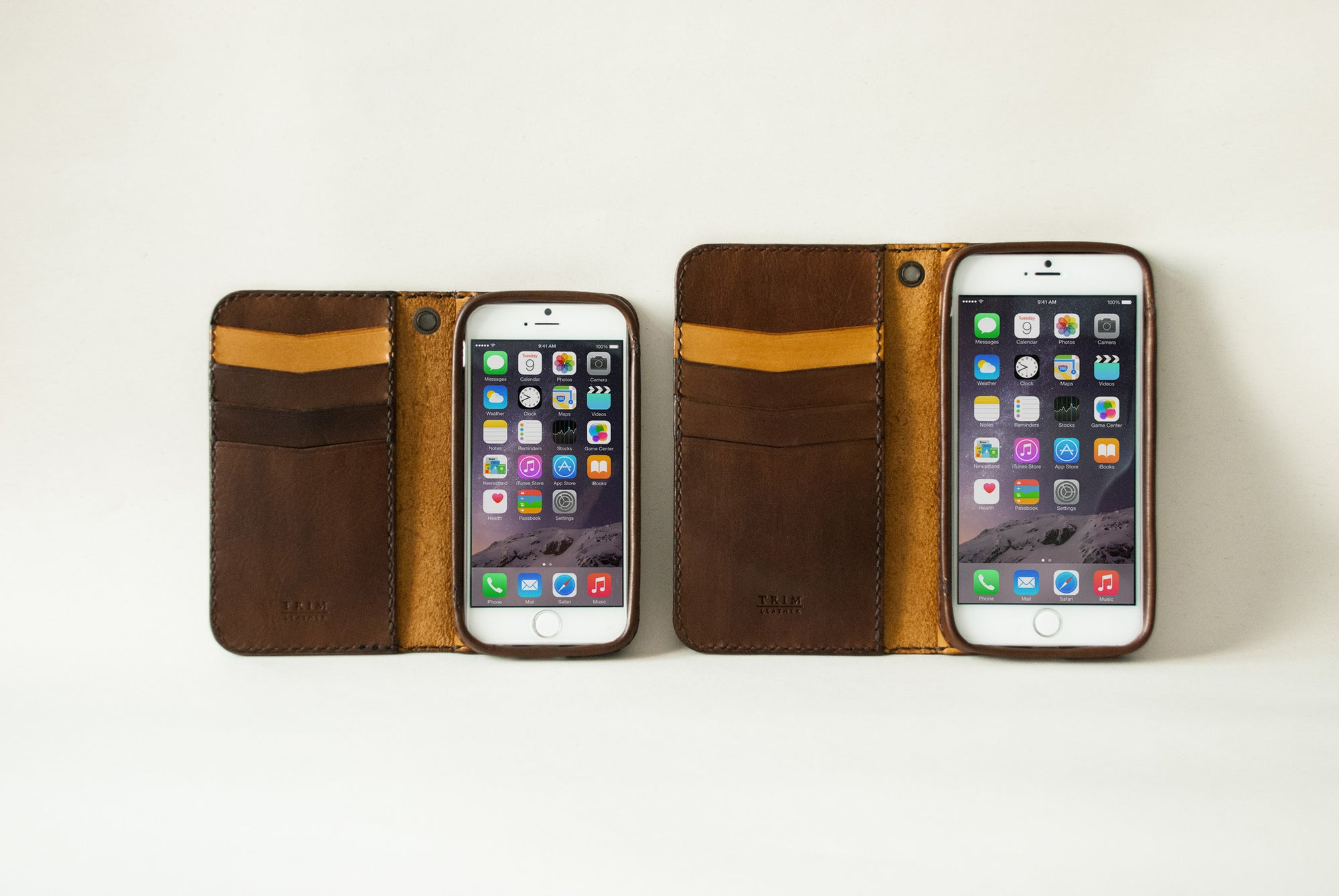 iPhone Leather Wallet Case | Classic | with Folio Cover