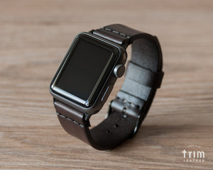 Apple Watch Band | Mountain Lake - Espresso