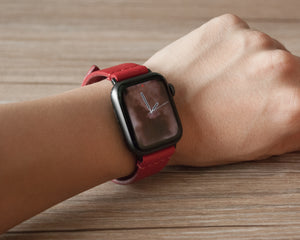 Apple Watch Band | Minimalist - Red Maple