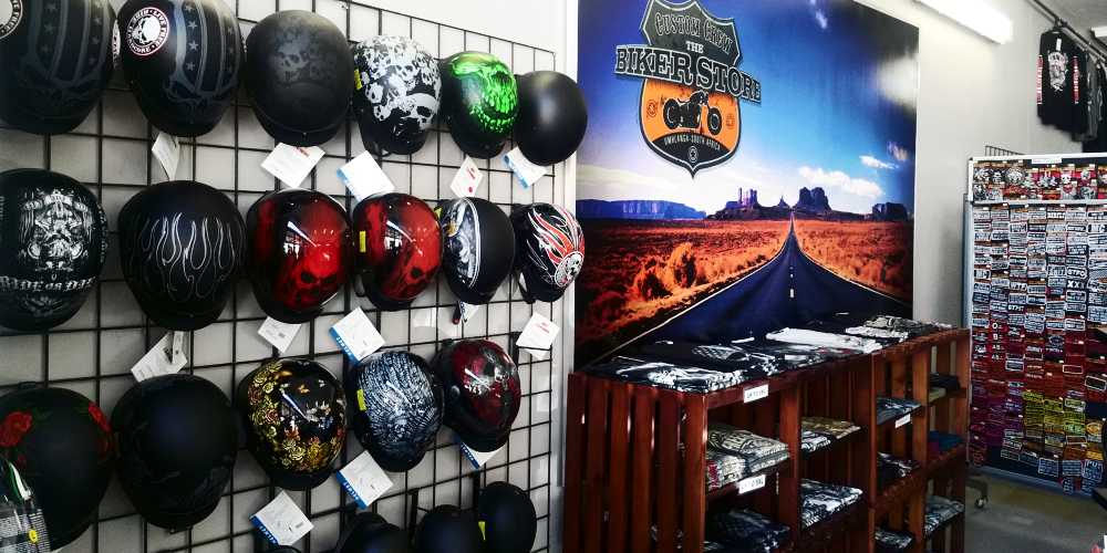 The biker store durban umhlanga south africa apparel and accessories harley-davidson customs and cruisers