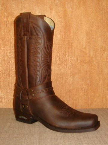 SENDRA PETE 33 SPRINTER TANG LEATHER BROWN - MADE IN SPAIN
