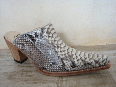 SENDRA LESS PYTHON BARR NATURAL BLANCO-NEGRO / LIMITED EDITION-MADE IN SPAIN
