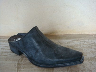 SENDRA MIMO BARBADOS NEGRO LEATHER VINTAGE BLACK / LIMITED EDITION-MADE IN SPAIN