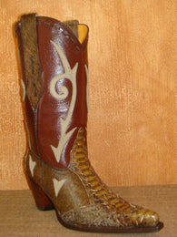 SENDRA LESS T.VANESSA / PYTHON BARRIGA FANTASIA COW LEATHER - LIMITED EDITION-MADE IN SPAIN