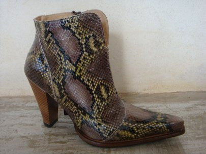 SENDRA BRAVO PYTHON LEATHER FANTASIA DESIERTO / LIMITED EDITION-MADE IN SPAIN
